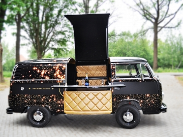 Bubbelbus wrappen VW T2