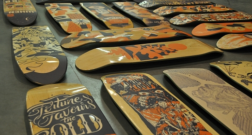 skateboards printen