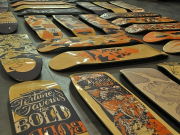 skateboards printen